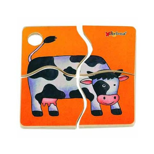 Mini Discovery Puzzle: Cow