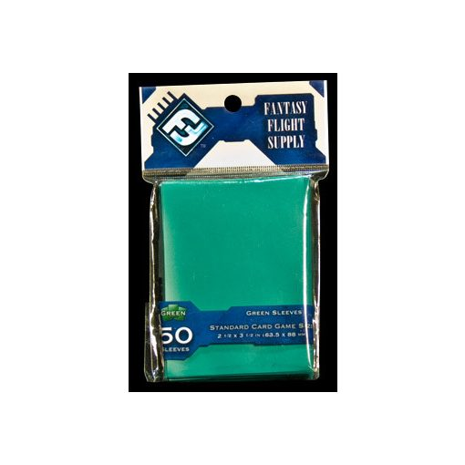 Kártyavédő fólia - FFG-Hüllen: Green (63,5x88 mm)