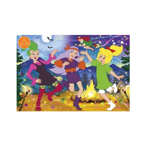 Witch party, 100 db, with sticker (55576)