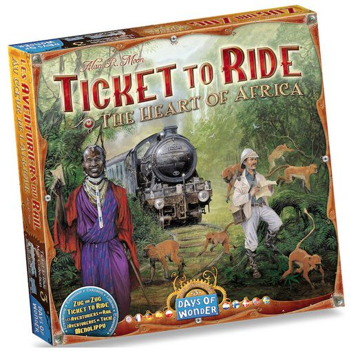 Ticket to Ride Map Collection: 3 - The Heart of Africa