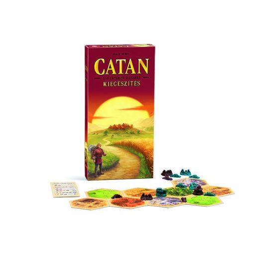 Catan telepesei 5-6 főre kiegészítő