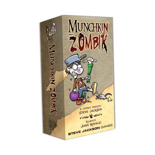 Munchkin Zombik - Alapjáték