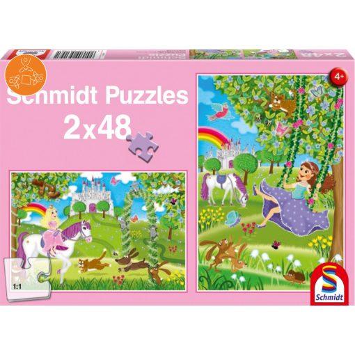 Prinzessin im Schlossgarten, 2x48 db (56158)