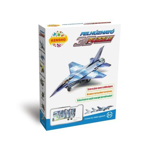 3D puzzle, F-16 vadászgép