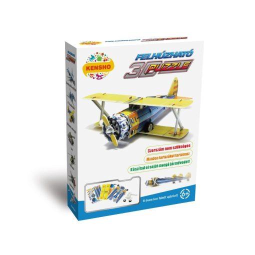 3D puzzle, Kétfedelű vadászgép (P-12)