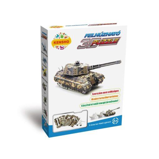 3D puzzle, Tank