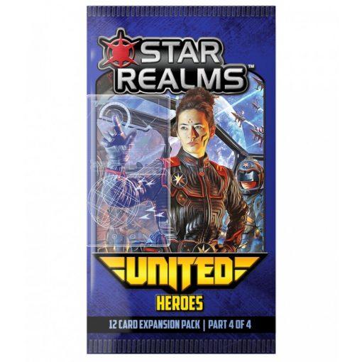 Star Realms Deckbuilding Game - United Exp. - Heroes