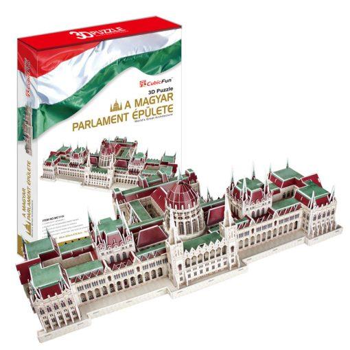 3D puzzle Magyar Parlament (3242) - 234 db