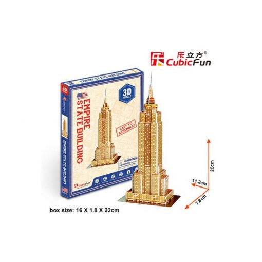 3D puzzle mini Empire State Building - 24 db