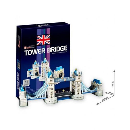 3D puzzle kicsi Tower Bridge