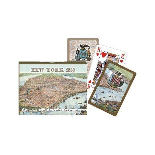 New York térképe 1853-ban 2x55 lap (266331)