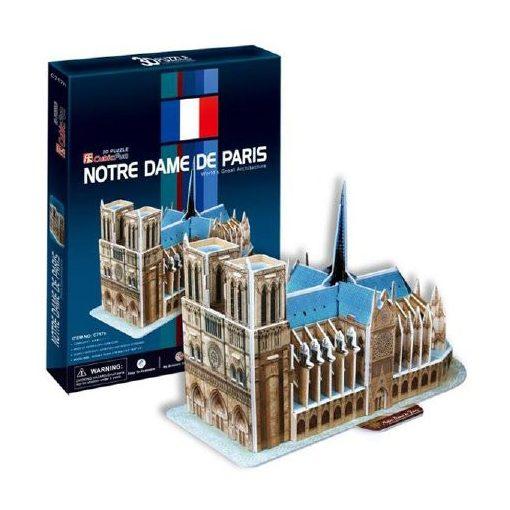 3D puzzle mini Notre Dame (128) - 39 db