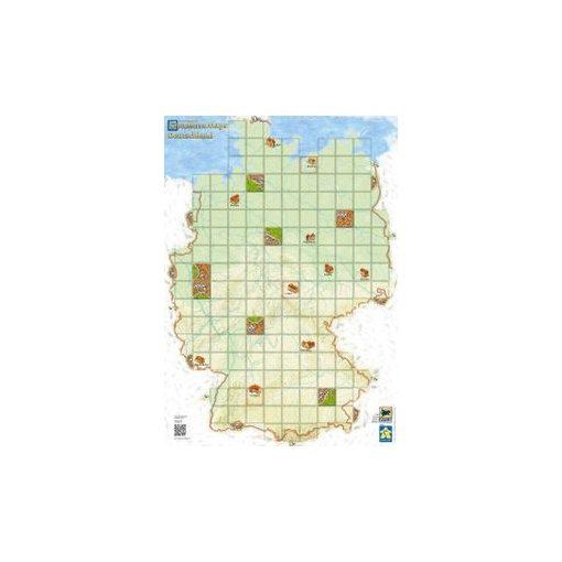 Carcassonne Térkép - Németország