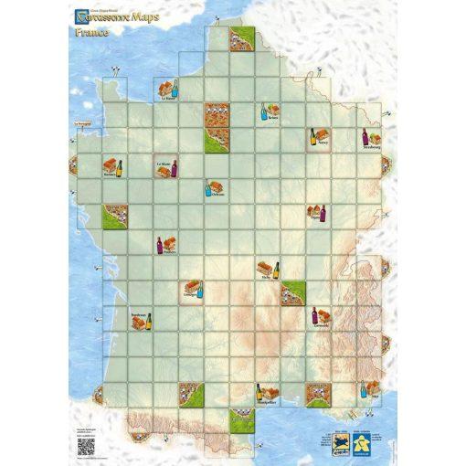 Carcassonne Térkép - Franciaország