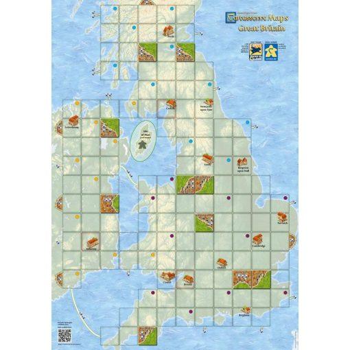 Carcassonne Térkép - Anglia
