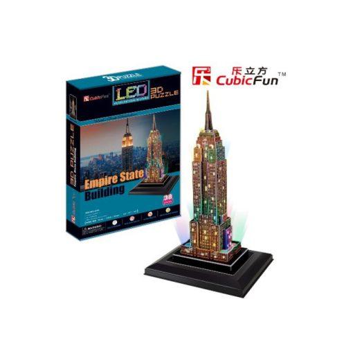 3D puzzle világítós Empire State Building - 38 db