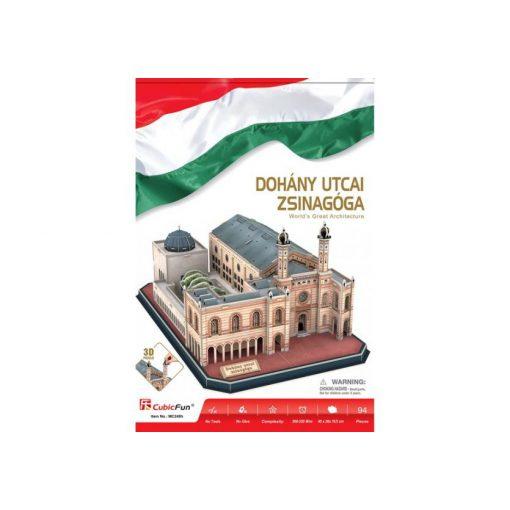 3D puzzle Dohány utcai zsinagóga - 94 db
