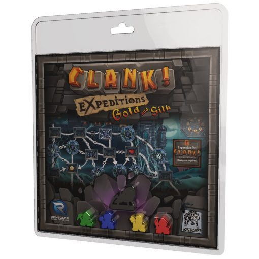 Clank! Expeditions: Gold and Silk Exp.