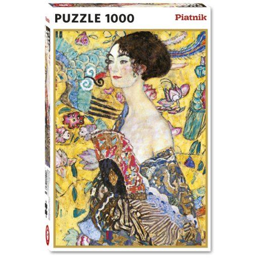 Klimt - Hölgy legyezővel, 1000 db (552748)