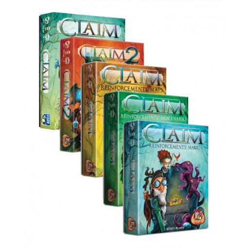 Claim ötös csomag + promó kártyacsomag