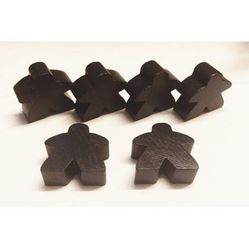 Carcassonne Big-Meeple set fekete