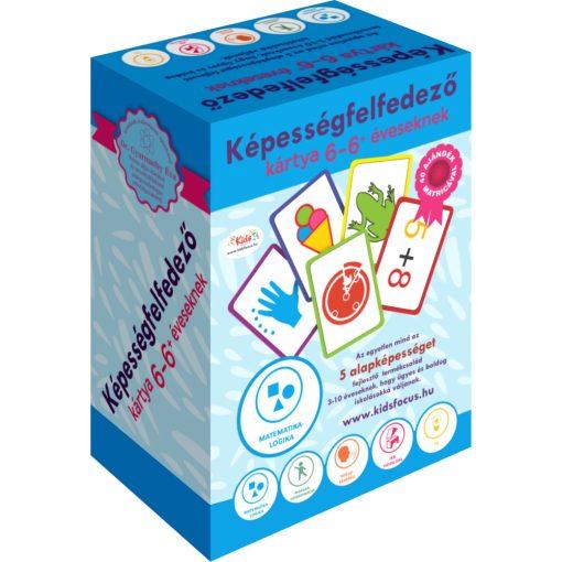 Képességfelfedező kártya 3-6 éveseknek (C-Kék)