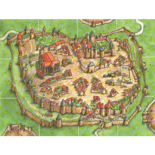 Carcassonne - Starting city