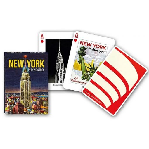 New York franciakártya