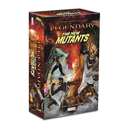 Legendary: New Mutants A Marvel Deck Building Game Exp.