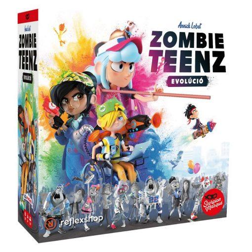 Zombie Teenz Evolúció