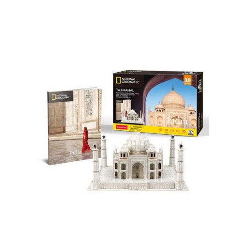 3D puzzle City Travel India, Taj Mahal - 87 db
