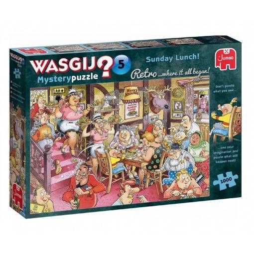 Wasgij Mystery 5. Sonntagsessen!, 1000 db