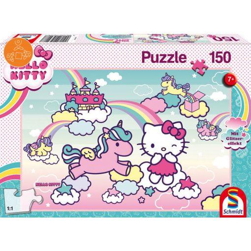 Hello Kitty - Kittys unicorn, with glitter-effect 150 db (56408)