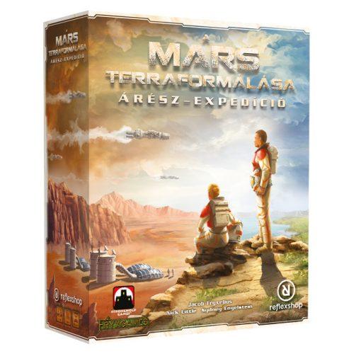 A Mars Terraformálása: Árész expedíció