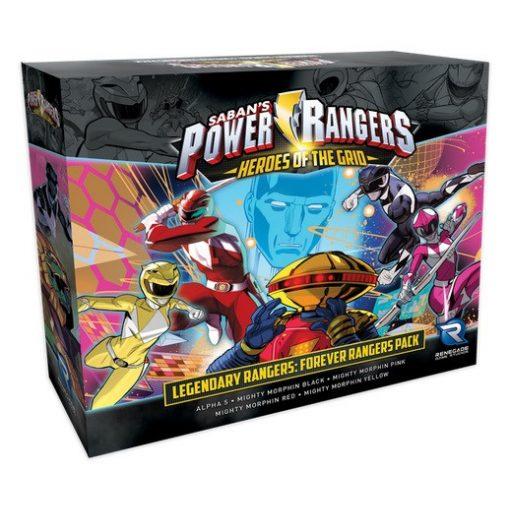 Power Rangers: Heroes of the Grid - Forever Rangers Pack Exp.
