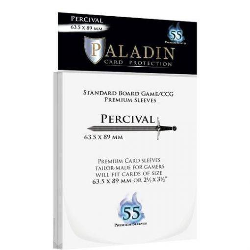 Kártyavédő fólia - Paladin - Percival (63.5x89 mm) 55 db