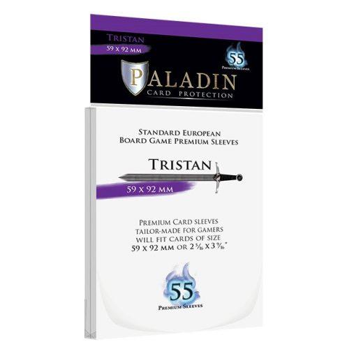 Kártyavédő fólia - Paladin - Tristan (59x92 mm) 55 db