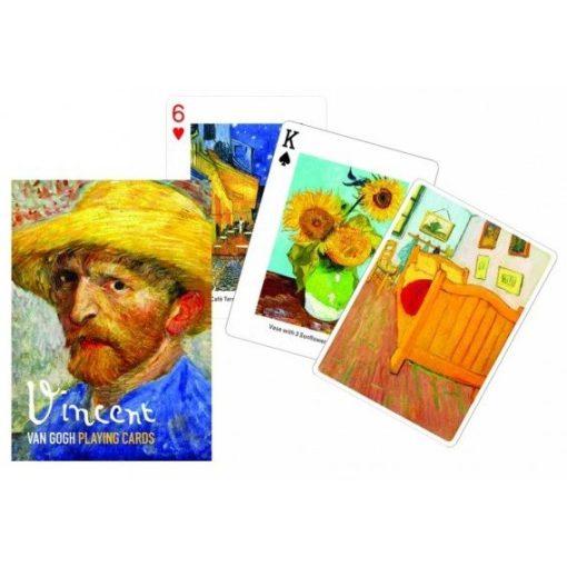 Van Gogh Festmények franciakártya