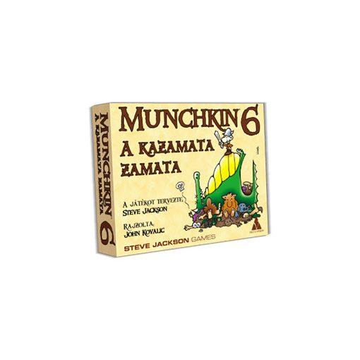 Munchkin 6 - A kazamata zamata kiegészítő